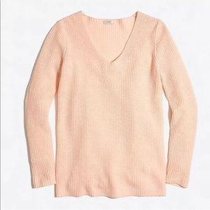 J. Crew Wool Blend Pullover V-Neck Sweater 🍑